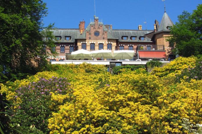 Sofiero slott och slottsträdgård i Helsingborg